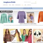 Screenshot von JungshansWolle.de
