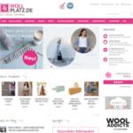 Screenshot von WollPlatz.de